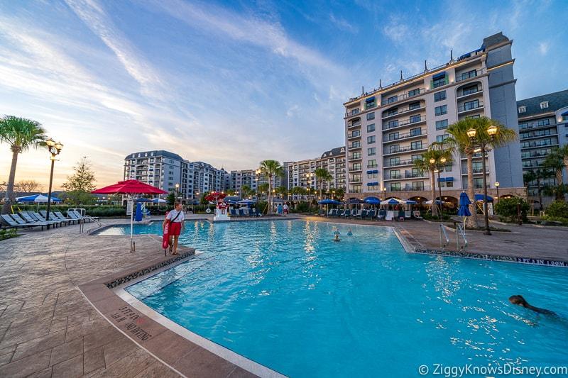 Walt Disney World Resort Hotel pool