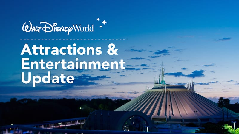 Disney World attractions when reopen