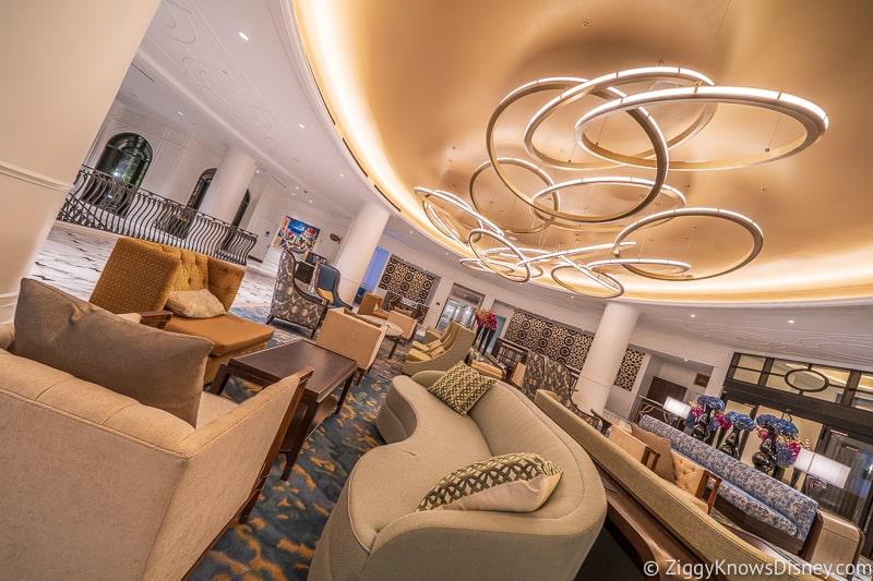 Disney's Riviera Resort Lobby