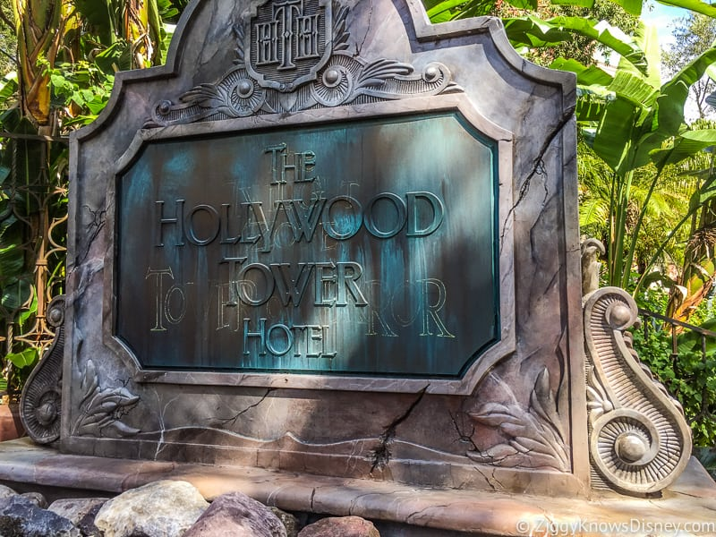 Tower of Terror Hollywood Studios attractions