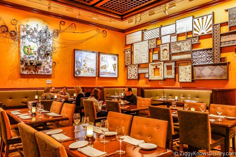 Disney World Dining table service restaurants