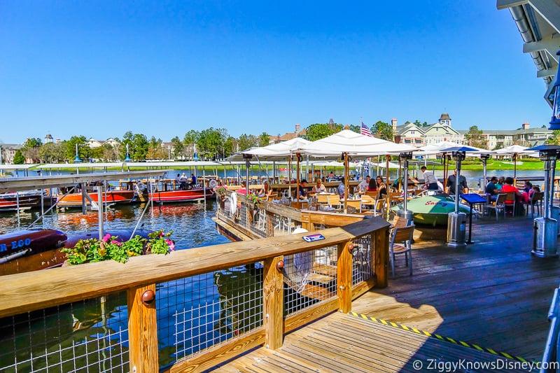 Disney Springs Dining reopening