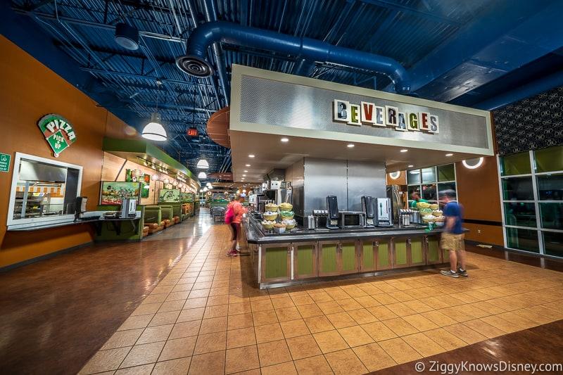 Self Service Beverage Station Disney World Dining Restaurants