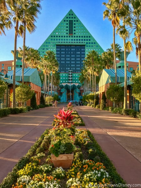 Disney World Swan & Dolphin hotels