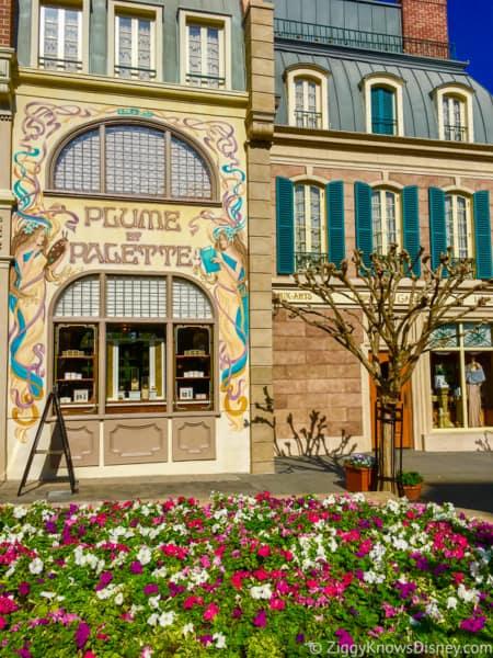 Flower and Plume shop France Pavilion EPCOT