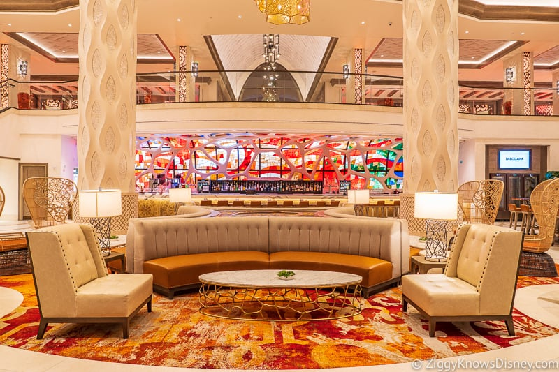 Disney's Gran Destino Lobby Ground Floor