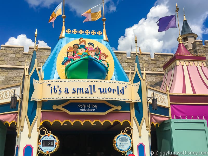 Magic Kingdom attractions reopening It's a Small World