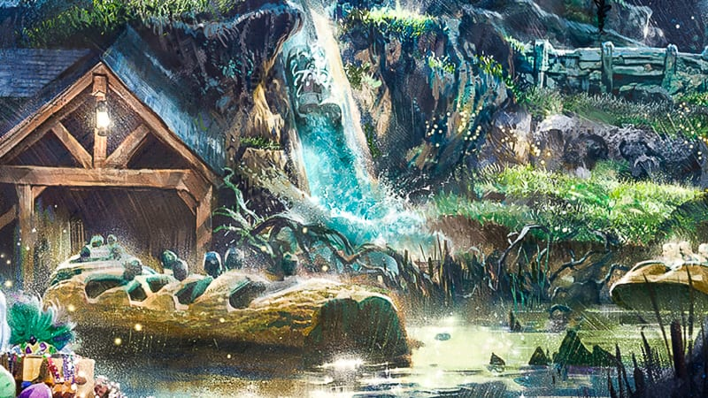 Splash Mountian Being Rethemed To Princess And The Frog Ride