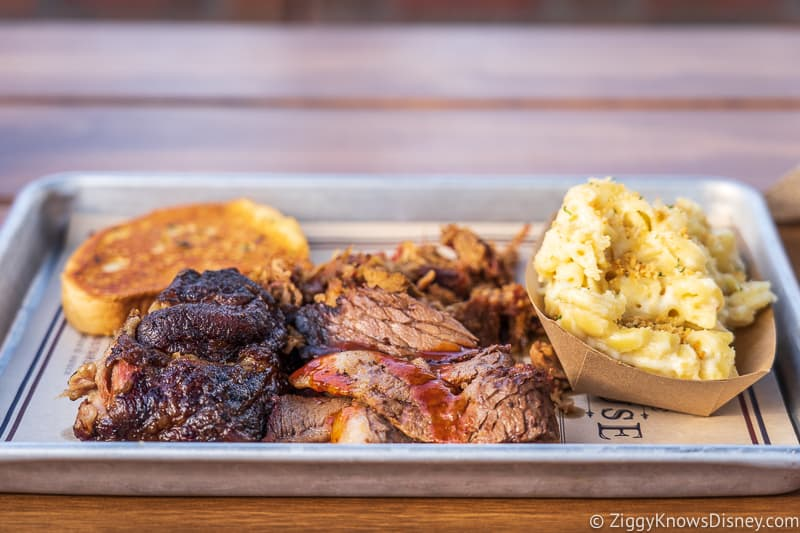 BBQ platter from Regal Eagle EPCOT
