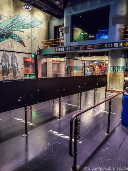 Plexiglass barriers Flight of Passage