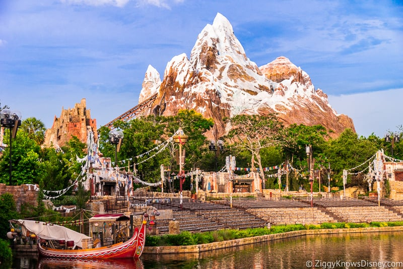 Everest Disney's animal kingdom