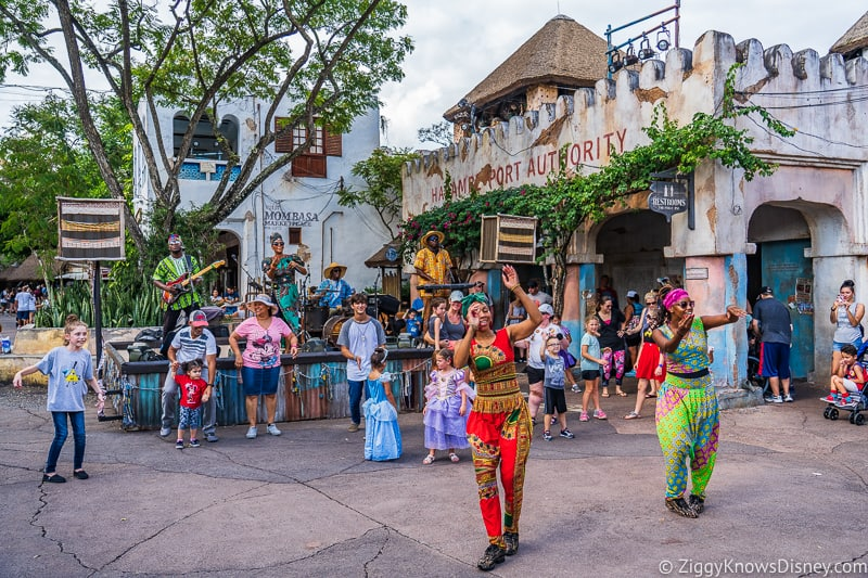 No dance parties in Disney's Animal Kingdom
