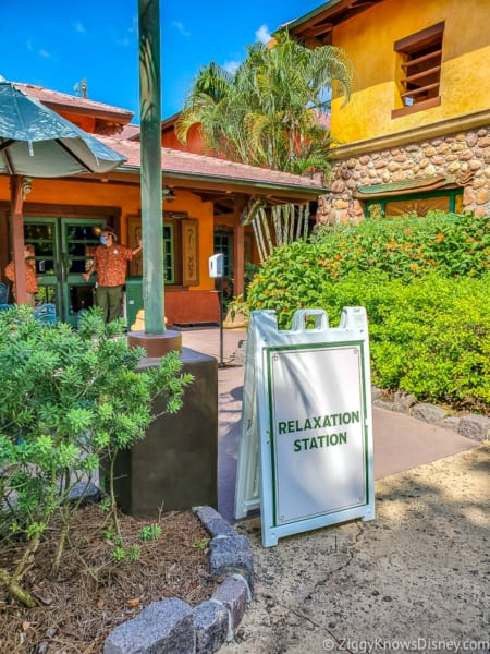 Animal Kingdom relaxation stations