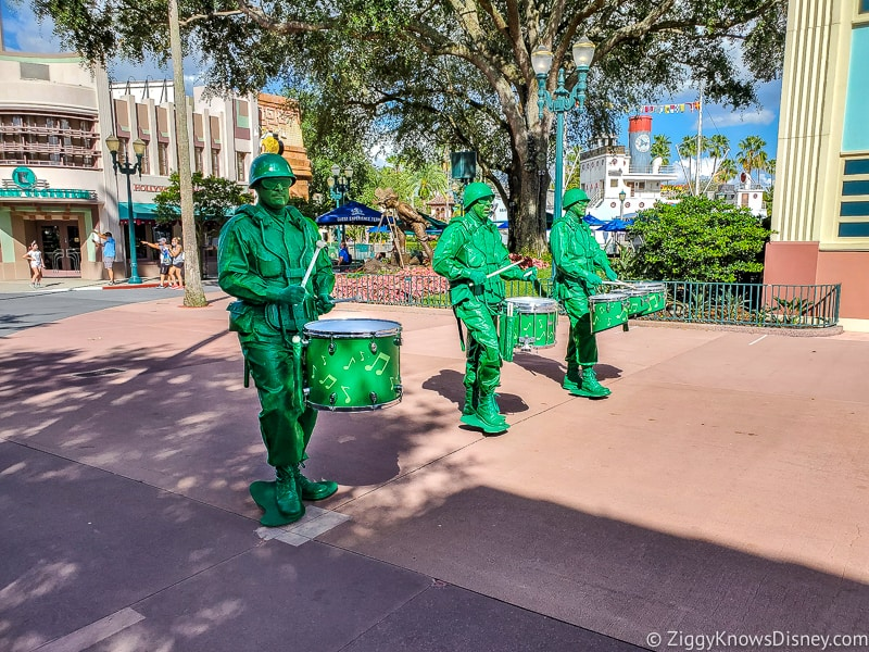 Green Army Men Pixar Pals Motorcade
