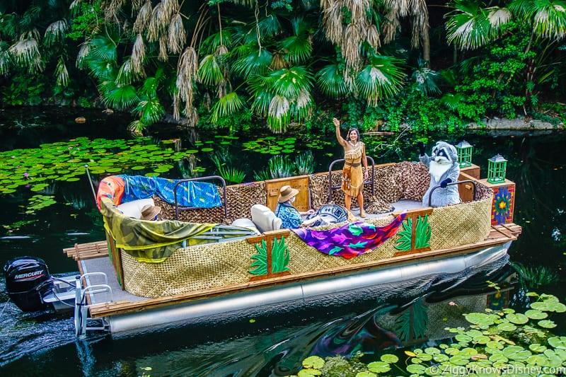Discovery River Character Cruise Pocahontas Animal Kingdom
