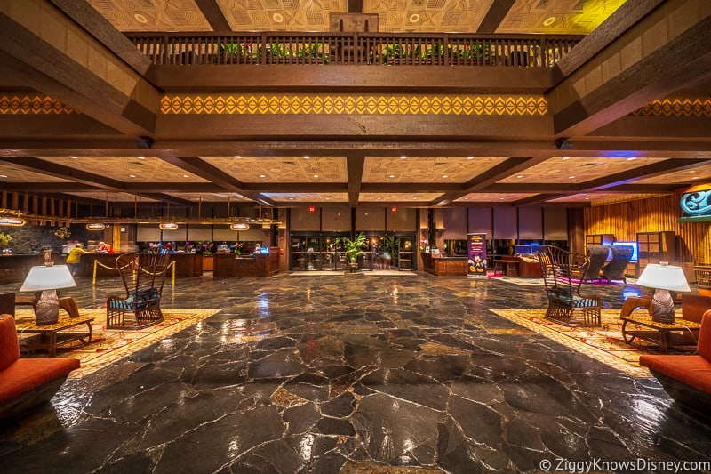 Disney's Polynesian Village Resort Lobby