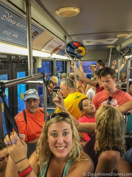 Inside Disney World Buses