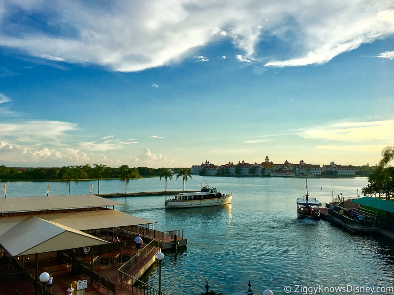 Disney World Boat Transportation system