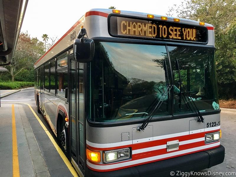 Disney World Bus System Transportation