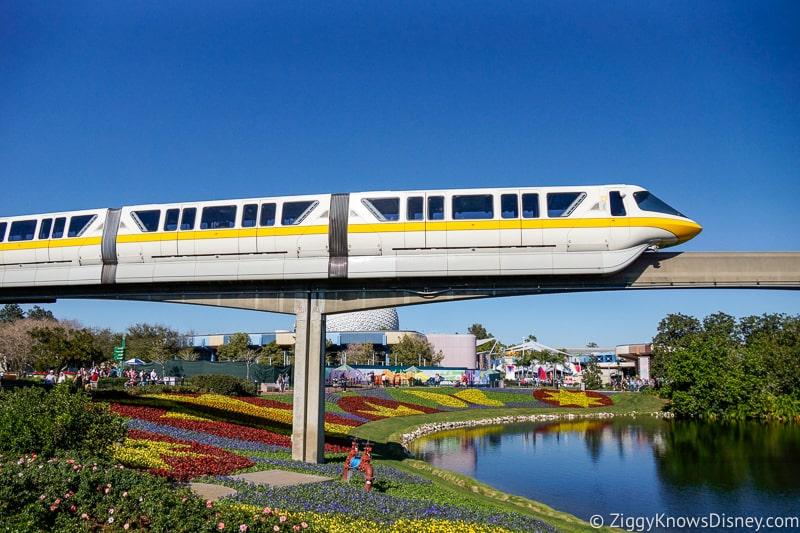 Disney World Monorail Transportation