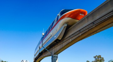 Disney World Transportation monorail system