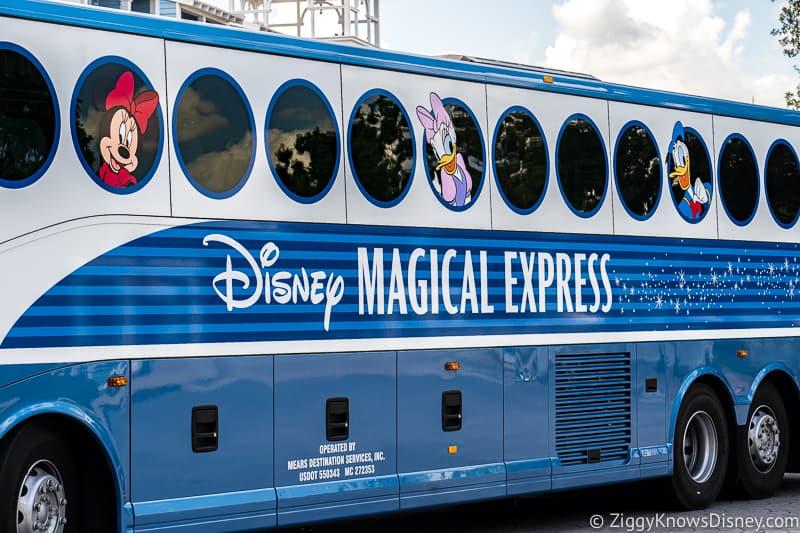 Disney's Magical Express Bus Disney World Transportation