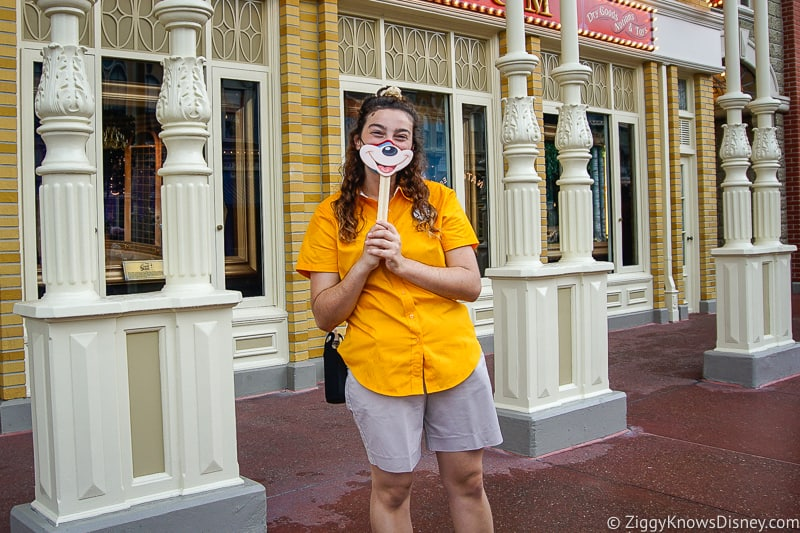 Face Masks in Disneyland