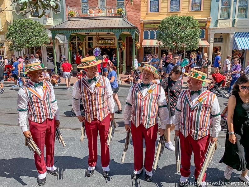 Dapper Dans on Main Street U.S.A. Magic Kingdom