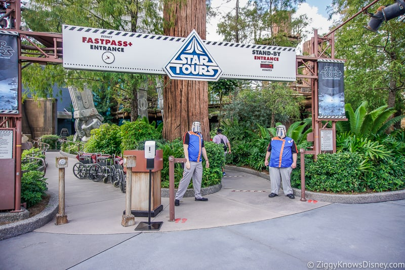 Star Tours the Adventures Continue after Reopening