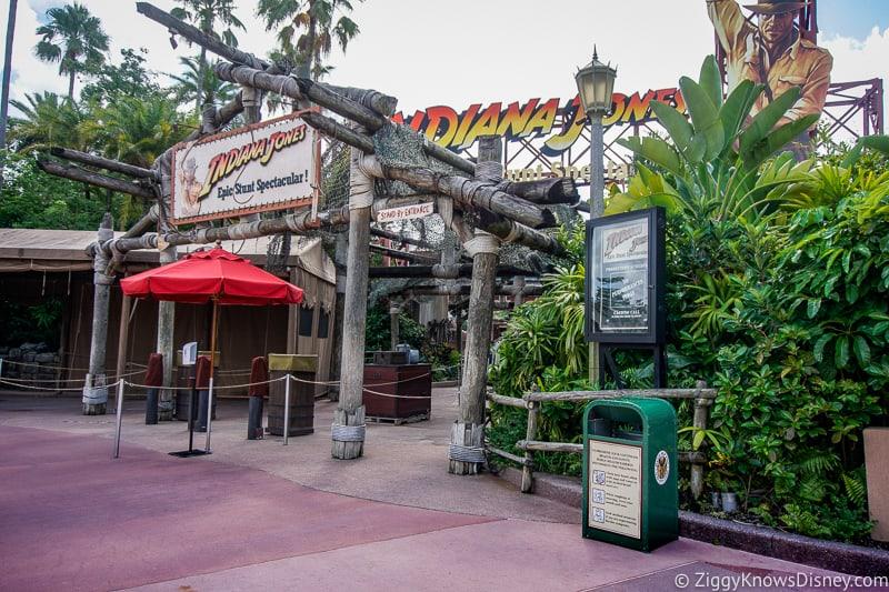 Indiana Jones Stunt Show still closed