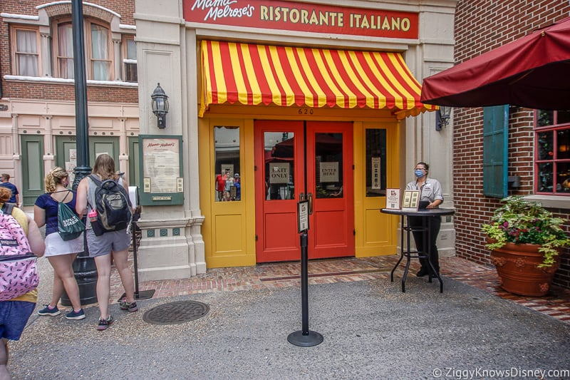 Hollywood Studios Restaurants Mama Melrose's Reopening