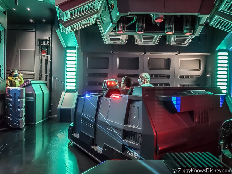 Single Group ride vehicles Rise of the Resistance Hollywood Studios Reopening