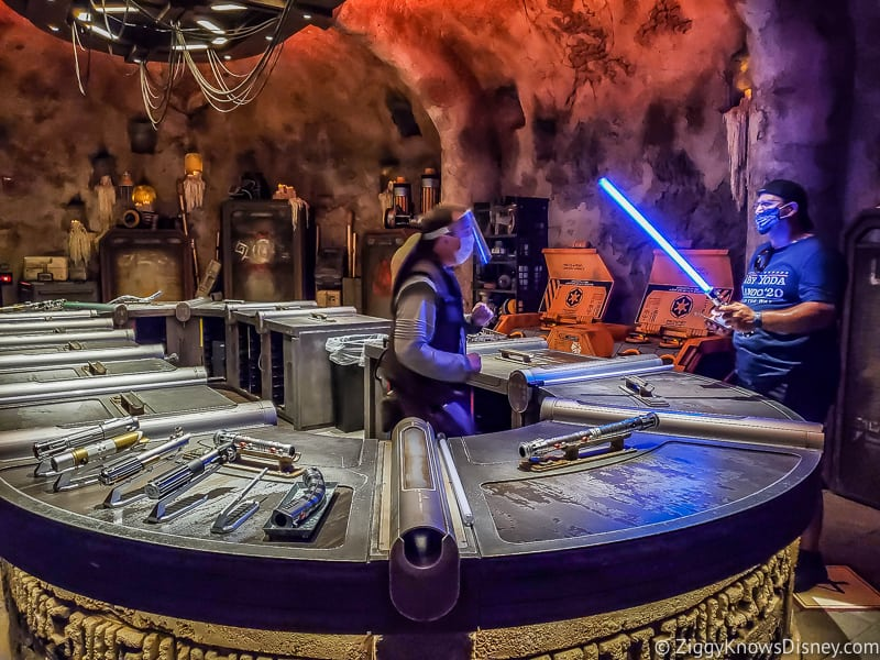 Savi's Workshop with Legacy Lightsabers