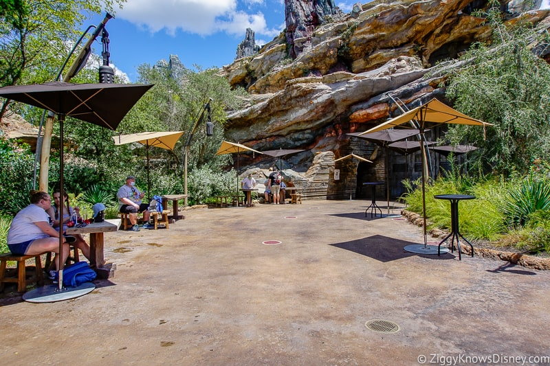 Hollywood Studios Relaxation stations in Galaxy's Edge
