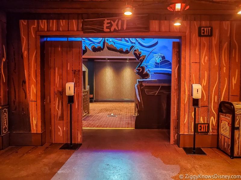 Runaway Railway exit Hollywood Studios Reopening