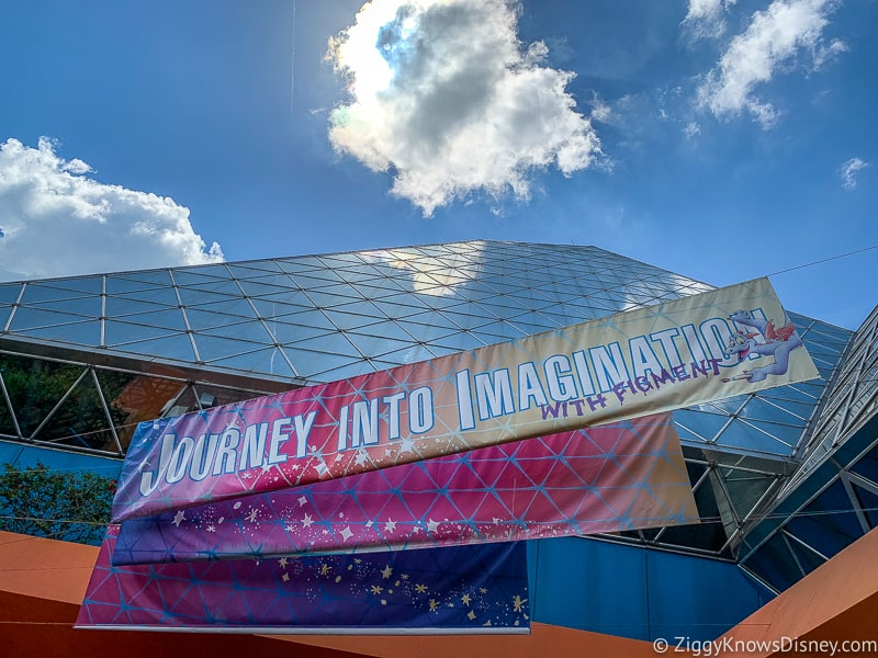 Journey Into Imagination with Figment entrance