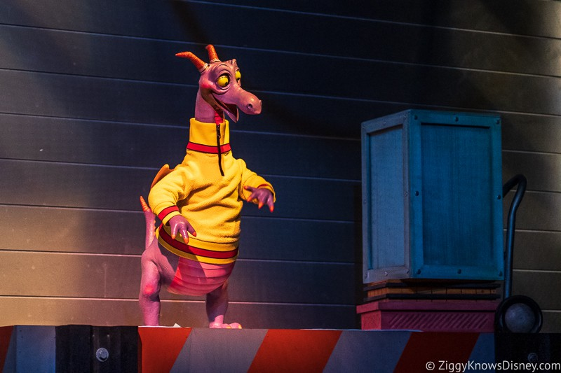 Figment animatronic Journey Into Imagination EPCOT