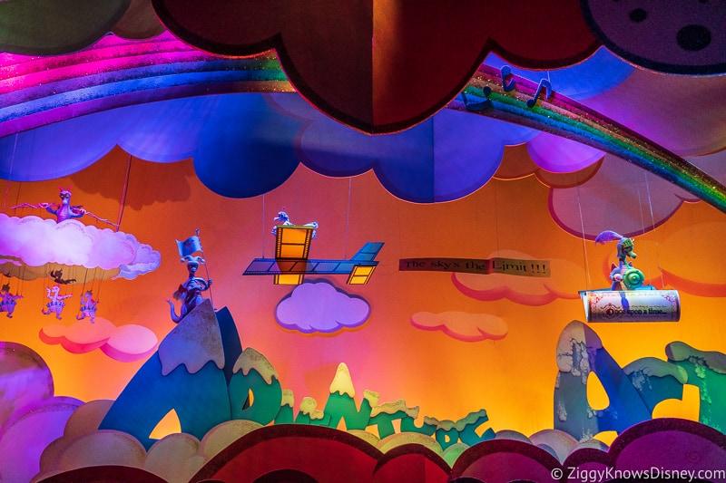 Final scene Journey Into Imagination ride EPCOT
