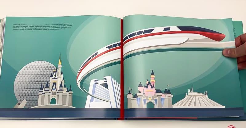 The Disney Monorail Book concept art