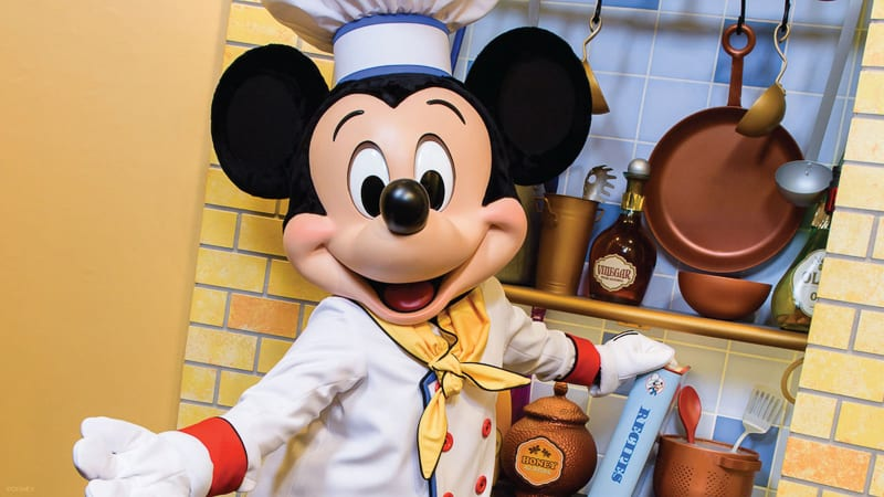 characters coming back to Chef Mickey's