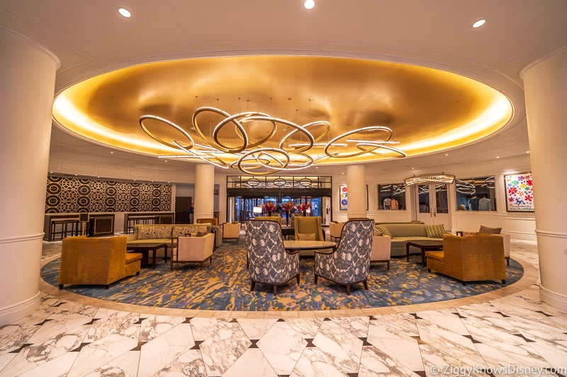 Disney Riviera Resort Lobby