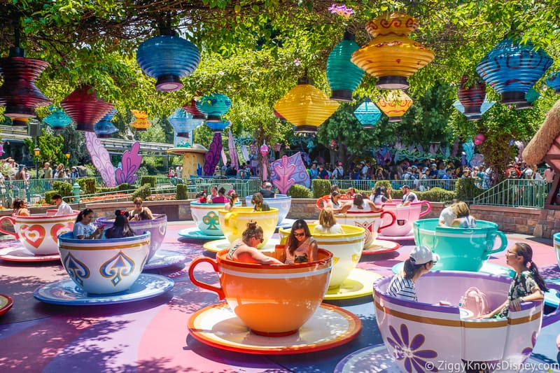 Mad Tea Party Disneyland