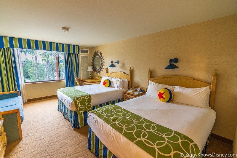 Pixar Pier Hotel Room
