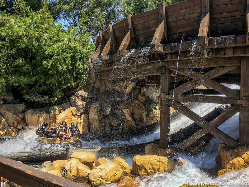 Grizzly River Run Disney California Adventure
