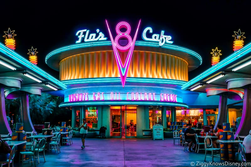 Flo's V8 Cafe Cars Land