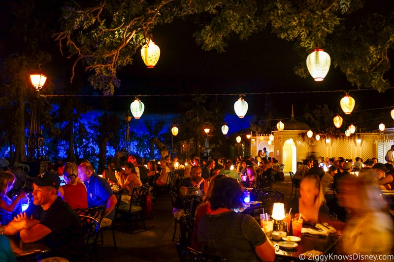 Dining at Blue Bayou Disneyland