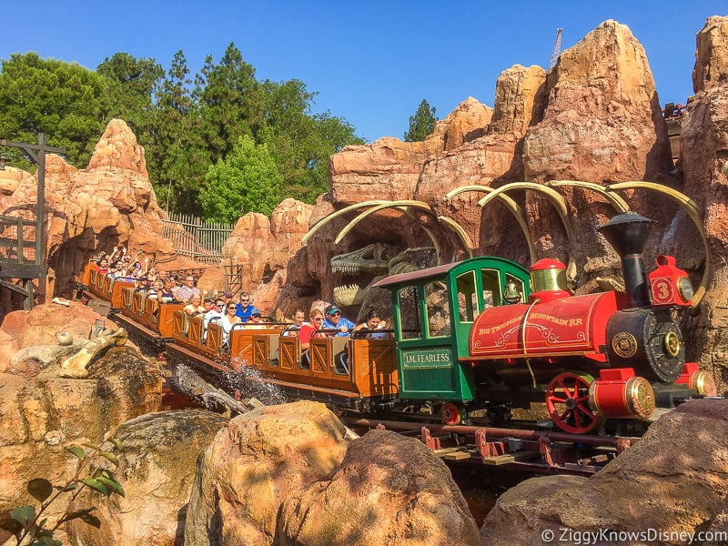 Big Thunder Railroad Disneyland