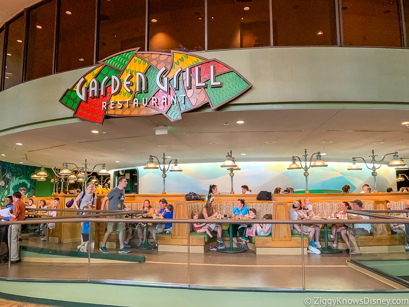 Garden Grill restaurant in EPCOT after Reopening
