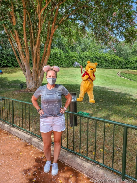 Winnie the Pooh character EPCOT