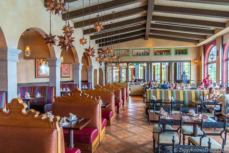 La Hacienda restaurant Mexico EPCOT